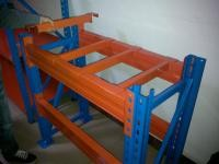 Square Tube Made Pallet Support Bar For Heavy Duty Pallet Racking to Increase