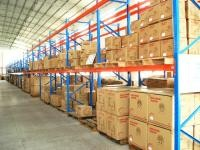 Cold Rolled Adjustable Heavy Duty Pallet Racking , Industrial Shelving Systems