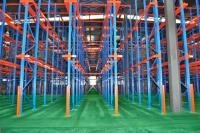 Medium Duty Multiple Drive In Pallet Rack With Powder Coat Paint Finish