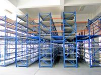 Structural Rack Supported Mezzanine With Racking Frames / Step Beams / Steel