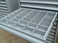 Durable Industrial Tool Chest Cabinet With Dividers Partitions Drawer