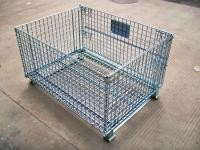 Foldable Wire Mesh Pallet Cage