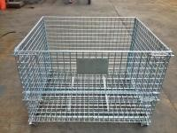 Stackable Wire Mesh Pallet Cage