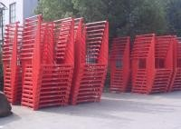 Warehouse Cold Rolling Steel Portable Stacking Racks For Flexible Material