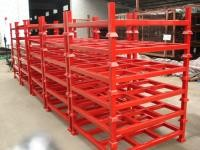 Customised Adjustable Stacking Shipping Stack Rack With Steel Plate