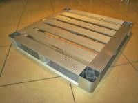 Portable Aluminum Pallets For Food / Pharmaceutical / Chemical Industries