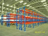 Industrial Double - Deep Pallet Racking Systems For Distribution Centers