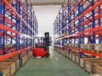 Conventional Selective Pallet Racking For Warehouse , Multi Tier Shelving
