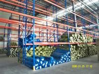 Cold Rolling Steel Industrial Pallet Racking Systems For Materials Handling