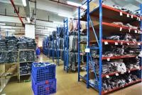 Multi Level Heavy Duty Long Span Racking For Order Picking Machines