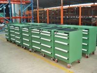 Heavy Duty Tool Chest Side Cabinet With Ball Bearing Slides , Machinist Tool