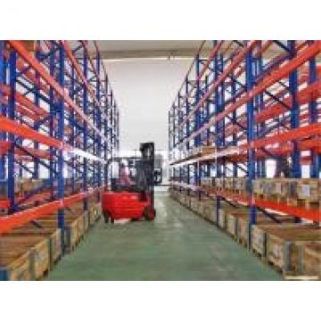 4000mm Height Long Span Heavy Duty Pallet Racking With Powder Coat Paint Finish