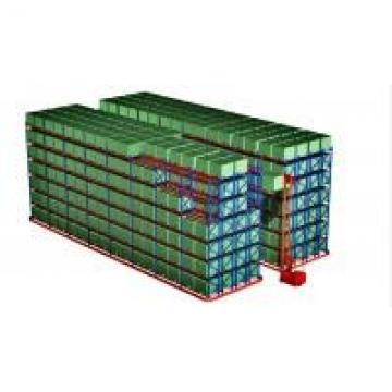 Selective Heavy Duty Pallet Racking With Powder Coating Paint Finish