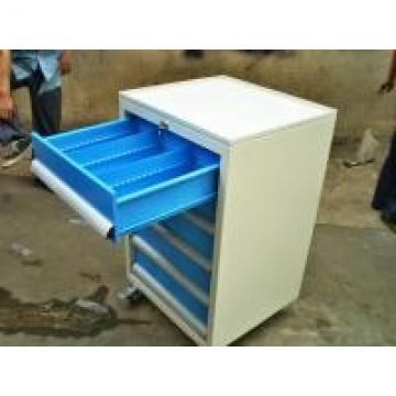 Cold Rolled Steel Lockable Tool Chest Cabinet With Ball Bearing Drawers