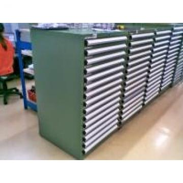Industrial Tool Chests And Cabinets With 3 - 15 Drawers , Green