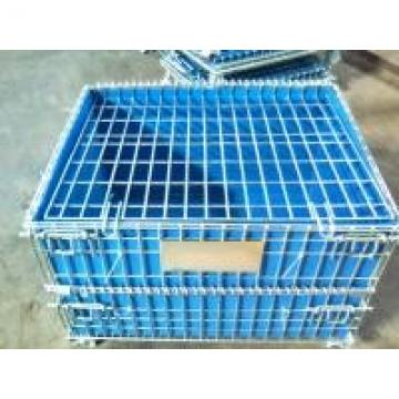 PP Board Protection Cover Wire Mesh Container For Small Parts Completeness
