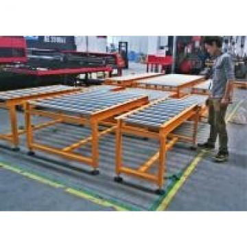 Flexible Heavy Duty Roller Conveyor For Warehouse Transporting / Package