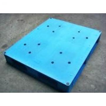 Welded / Integrated Solid Face Plastic Euro Pallets For Food Storage