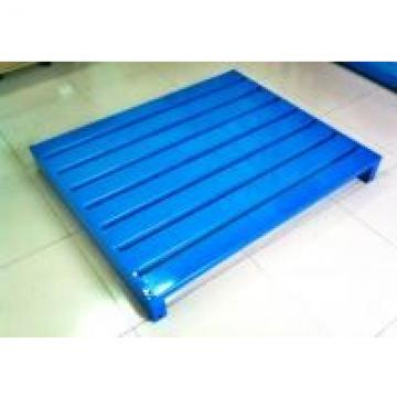 Powder Coated Heavy Duty Steel Pallets For Warehouse Management Storage