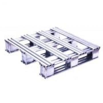Silvery White Recyclable Stainless Steel Pallets With High Polish Finish