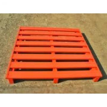 Powder Coated Galvanized Packaging Steel Pallet With Heavy Loading Support