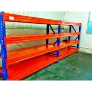 Blue / Orange Cold Rolled Heavy Duty Pallet Racking With Long Span