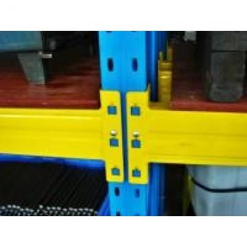 Industrial Back To Back Selective Pallet Racking With Deoil , Derusting Surface