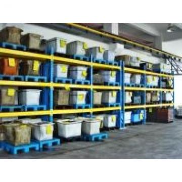 Heavy Duty Selective Pallet Racking With Plywood Deckin , Steel Racking Systems