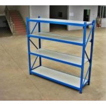 Cold Rolling Steel Raw Materials Long Span Racking , Light Duty Rack