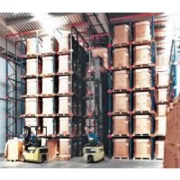 Double Entry Powder Coating Drive In Pallet Rack For Raw Materials