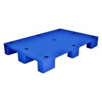 Durable / Light Weight Recycled Plastic Pallets For Logistic , Blue / Red