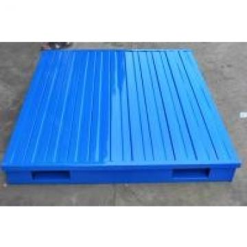 Reusable Returnable Heavy Weight Industrial Metal Pallets For Storage Handling